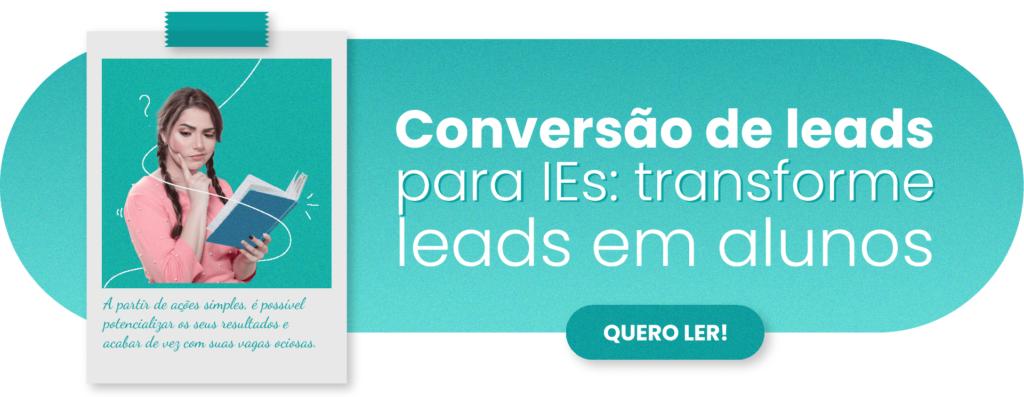 Conversão de leads para IEs - Rubeus