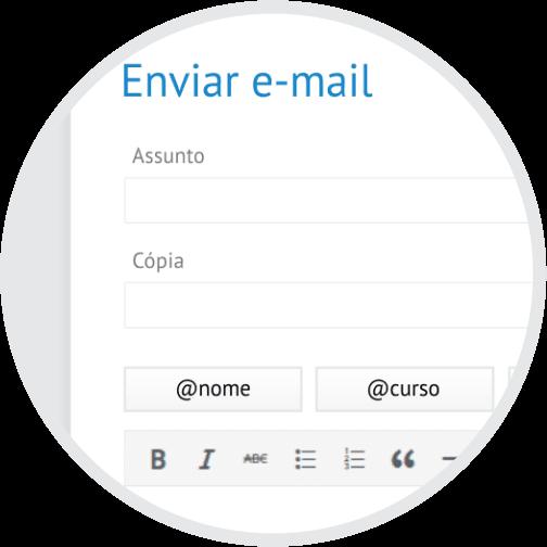 CRM Rubeus - Envio de e-mail direto da plataforma