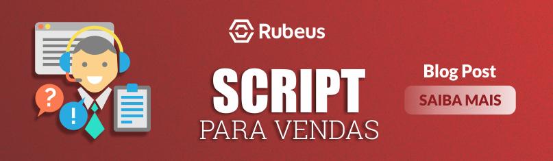Script para vendas de cursos - Rubeus