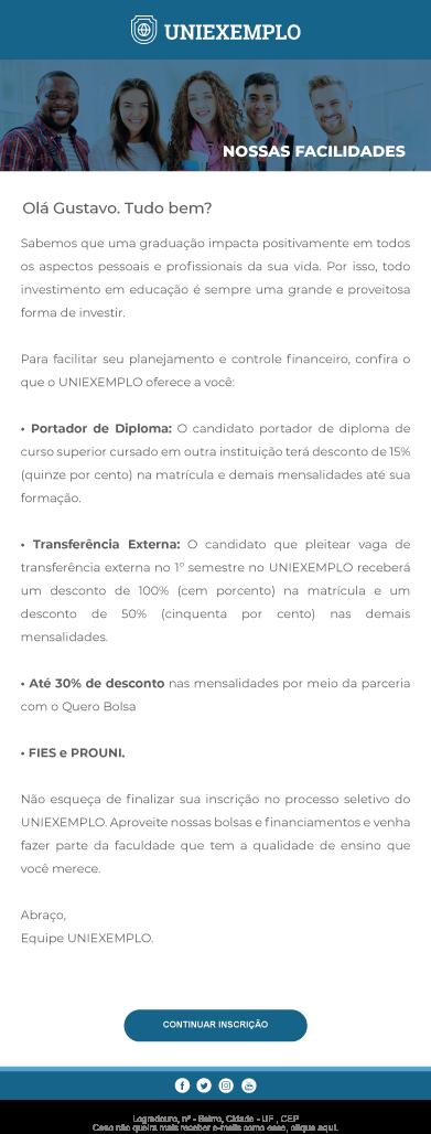 E-mail UniExemplo - Rubeus