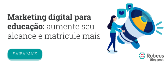 Blog post Marketing Digital para educação - Rubeus