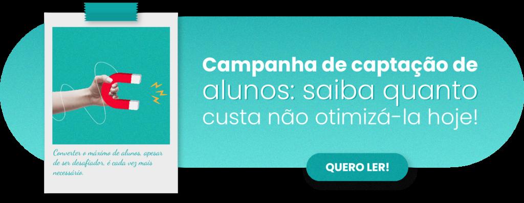 Campanha de captação de alunos - Rubeus