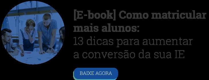 CTA E-book Como matricular mais alunos - Rubeus