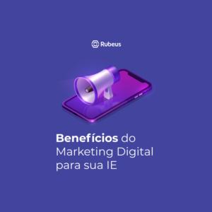 Post no Instagram: Marketing Digital para educação - Rubeus
