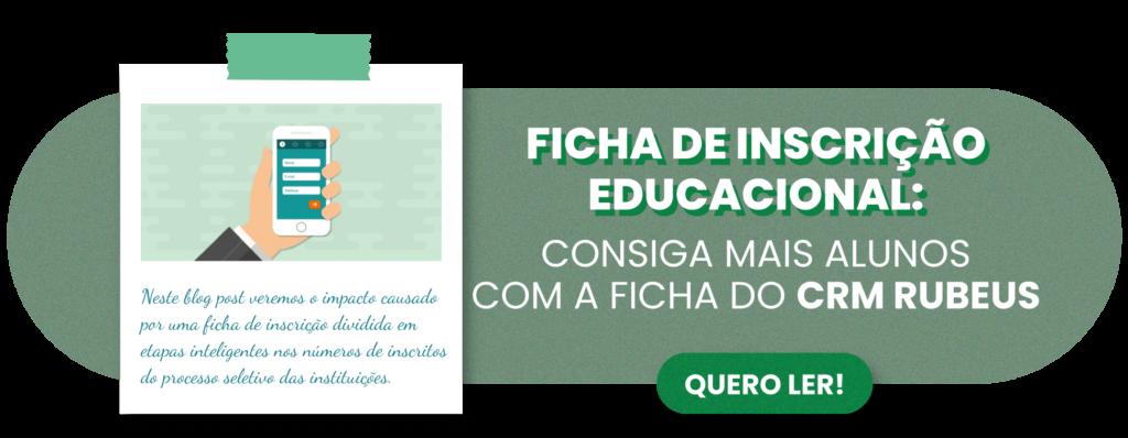 Ficha de Inscrição Educacional - Rubeus