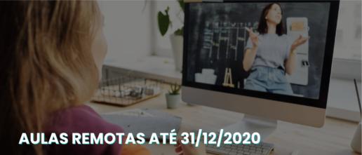 Ministério da Educação autoriza aulas remotas até 31/12/2020 - Rubeus