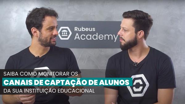 Canais de captação de alunos - Rubeus