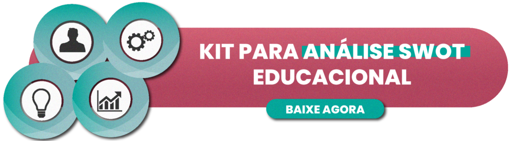 KIT PARA ANÁLISE SWOT EDUCACIONAL - RUBEUS