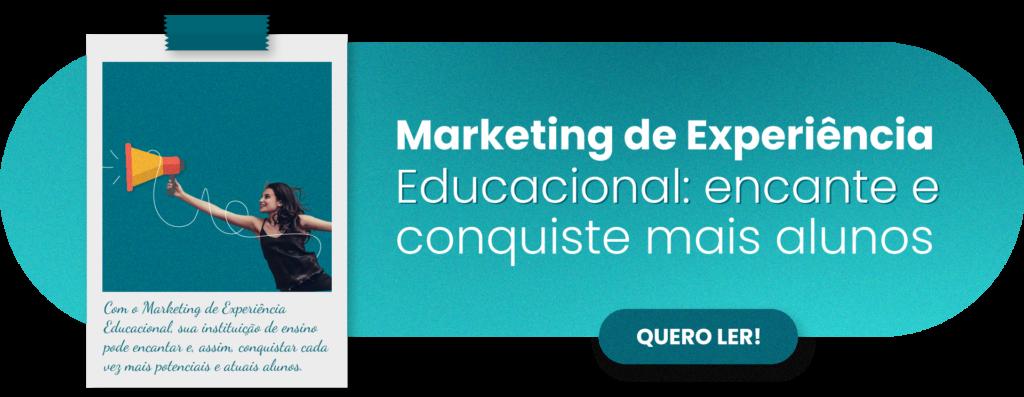 Marketing de Experiência Educacional - Rubeus