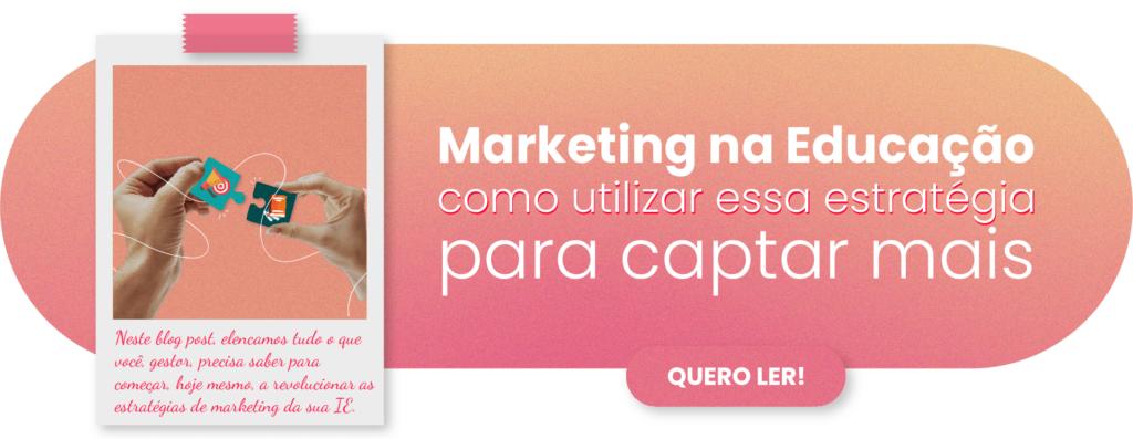 Marketing na educação - Rubeus