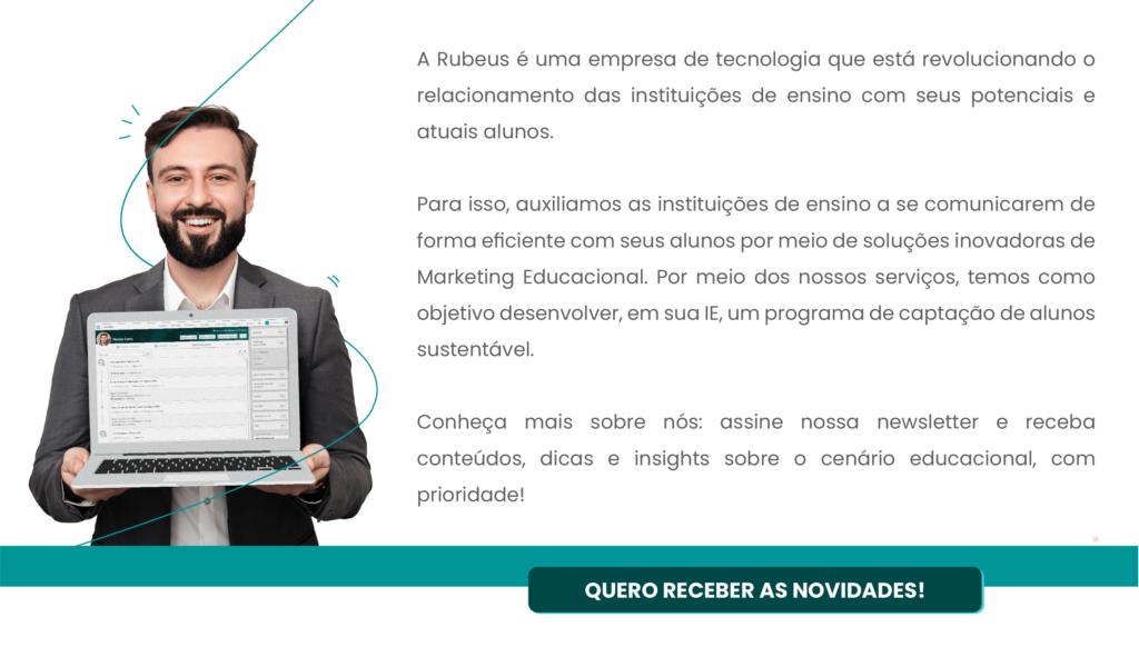 Assine nossa newsletter - Rubeus