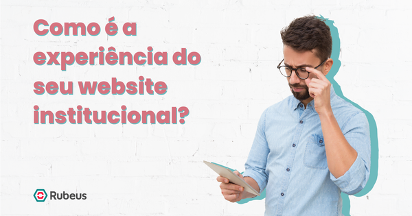 Ao entrar em um website, qual é o primeiro fator que você observa? - Rubeus