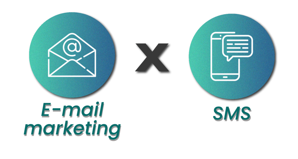 E-mail marketing x SMS - Rubeus