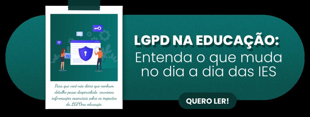 LGPD na educação - Rubeus
