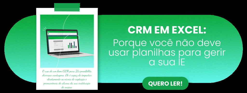 CRM em Excel: porque você não deve usar planilhas para gerir a sua IE - Rubeus