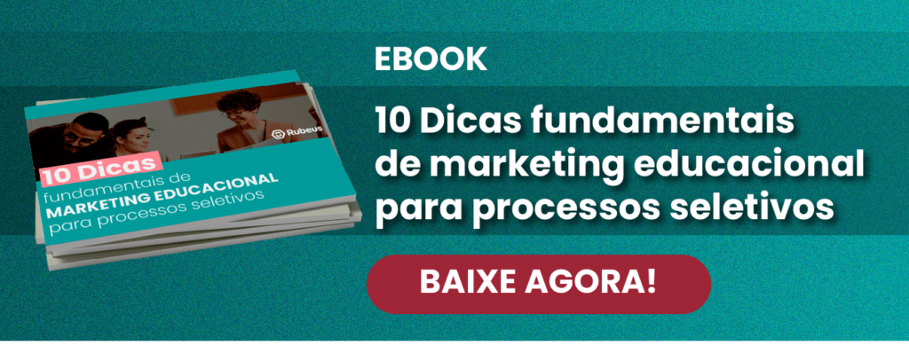 [E-book] 10 Dicas de Marketing Educacional para Processos Seletivos - Rubeus