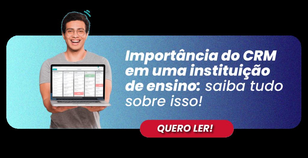 IMPORTANCIA DO CRM EM UMA INSTITUIÇÃO - RUBEUS