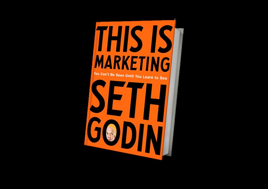 "> ""This is marketing"" — Seth Godin"